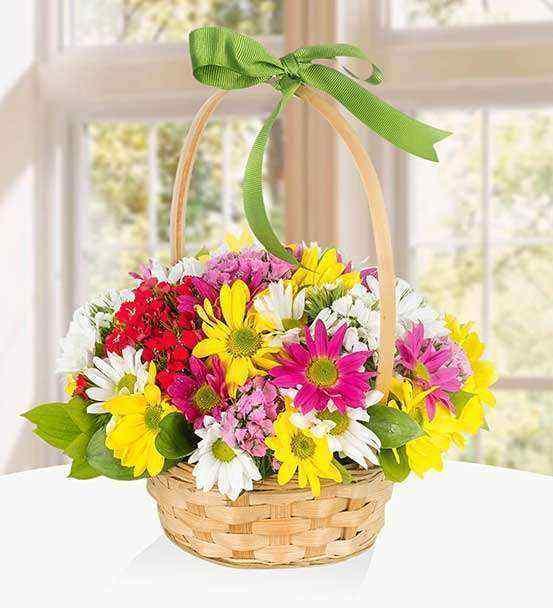 Sepette Çiçekler